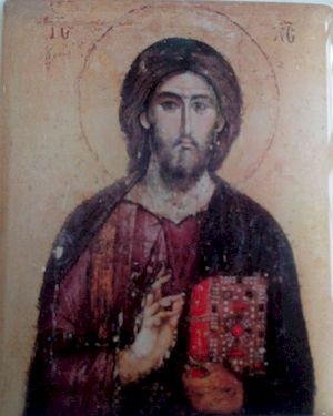 Icône autocollante Christ Pantocrator Lot de 5
