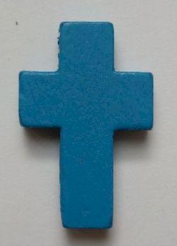 Petite croix beue. Lot de 6