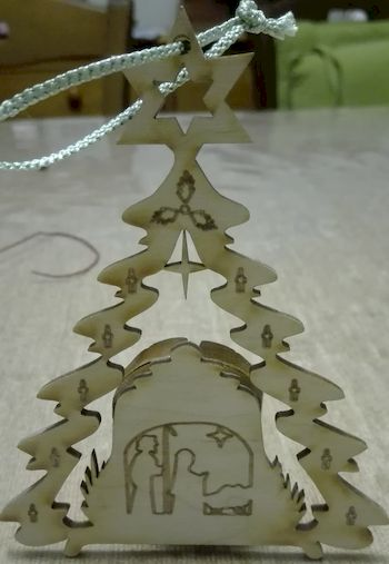 Décoration Noël sapin.