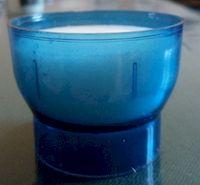 Veilleuse bleue. Lot de 12