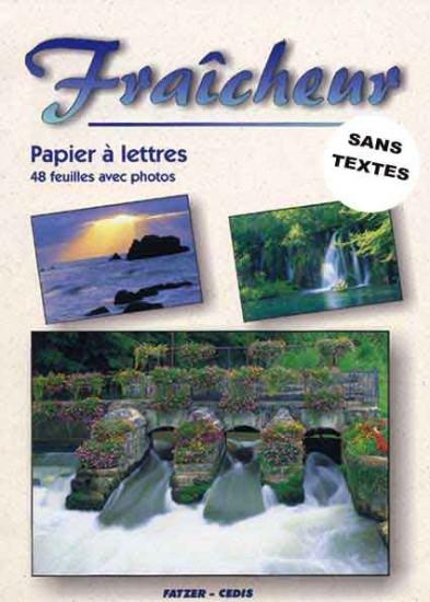 Papier à lettre sans texte : Fraîcheur