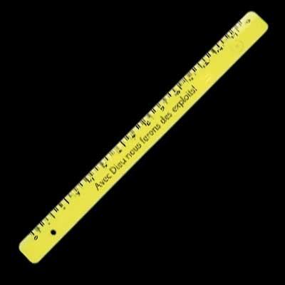 Règle 15cm Avec Dieu nous ferons....