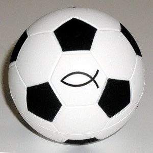 Balle en mousse de football