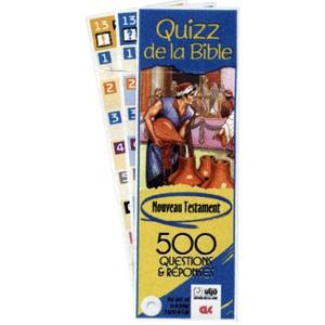 Quizz de poche Nouveau Testament