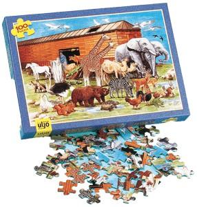 Puzzle Arche de Noé 100 pièces