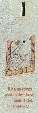 Signet Cadran solaire.