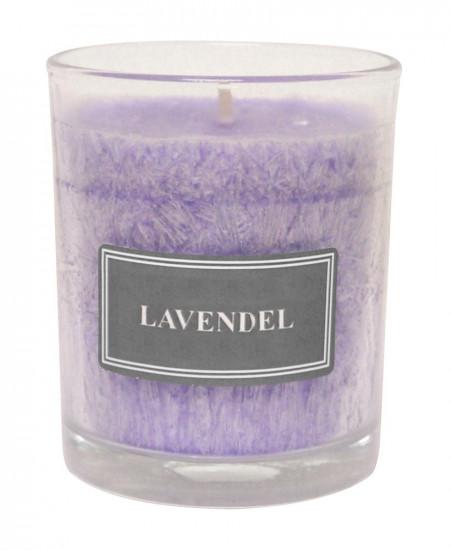 Bougie parfumée lavande Hauteur 8 cm d 7cm Chaque jour....