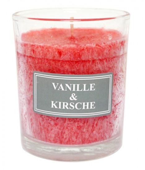 Bougie parfumée vanille-cerise