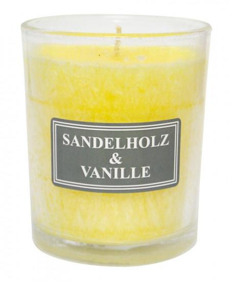 Bougie parfumée vanille-bois de santal