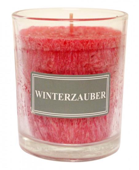 Bougie parfumée senteur de Noël Hauteur 8 cm