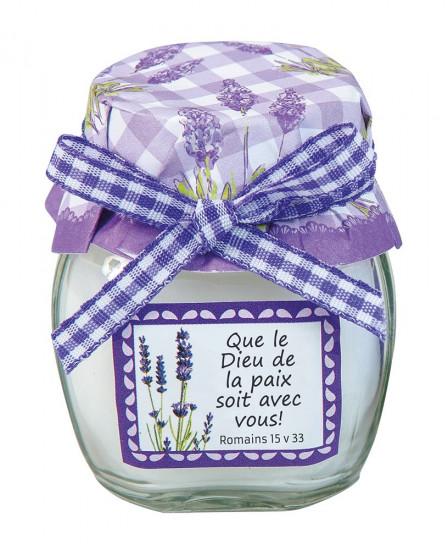 Bougie parfumée à la lavande Hauteur