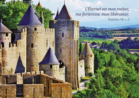 Carte avec Verset Château