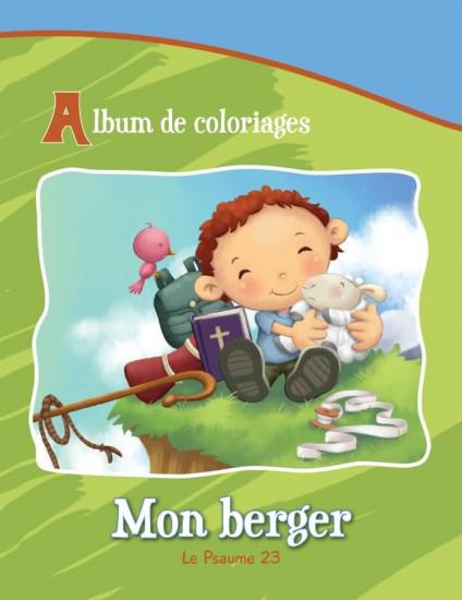 Mon Berger Ps 23.  Album Jeux et Coloriage