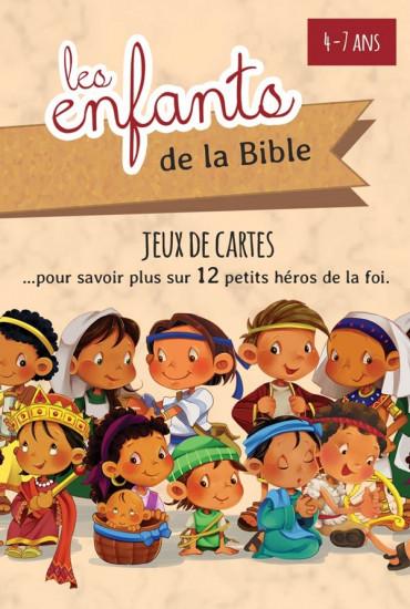 Jeux de cartes, les enfants de la Bible