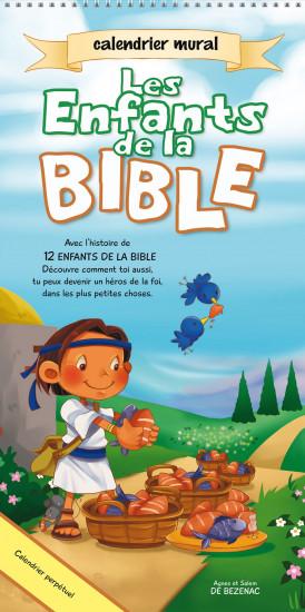 Calendrier  Perpétuel. Les enfants de la bible