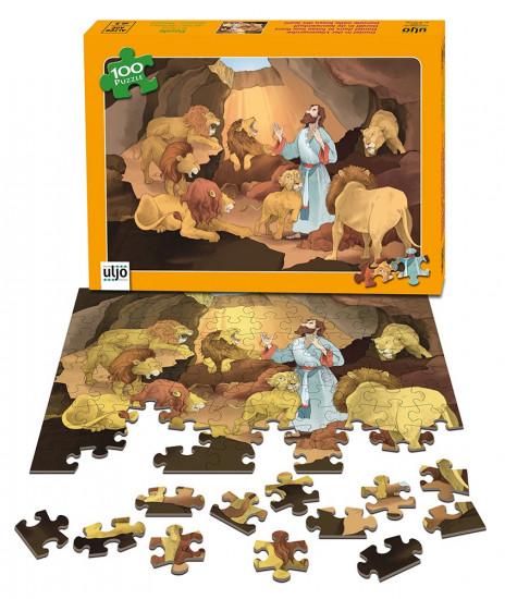 Puzzle Daniel dans la fosse aux lions, 100 pièces
