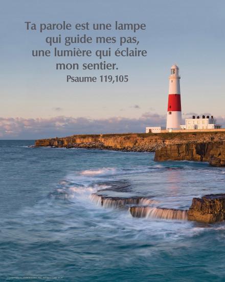 Poster Phare au bord de la mer