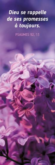 Signet Fleurs violettes