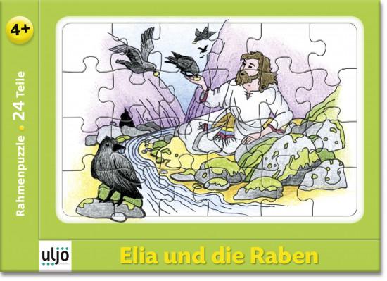 Mini-puzzle «Elie et les corbeaux»