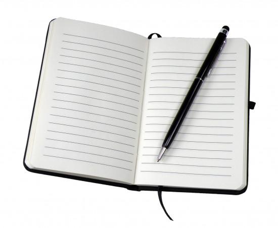 Ensemble d'écriture «Dieu est avec moi» carnet avec stylo