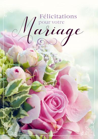 MAXI Carnet : Bouquet de roses roses et de fleurs