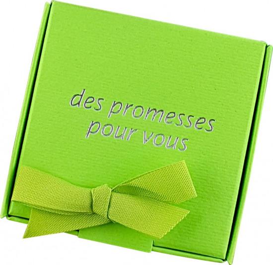 Coffret 60 versets boite vert