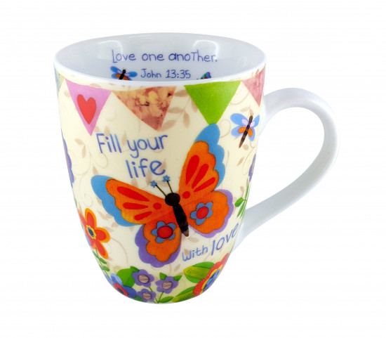 Tasse « Fill Your Life With Love »