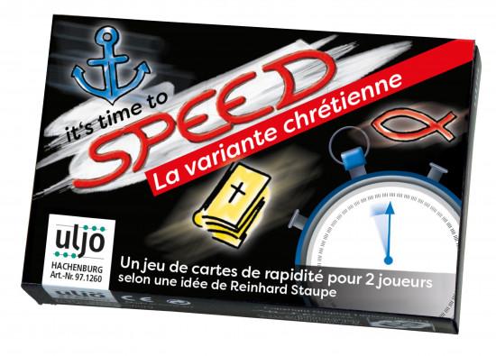 Jeu de cartes «Speed» chrétien