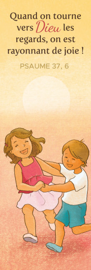 Signet Enfants qui courent en riant