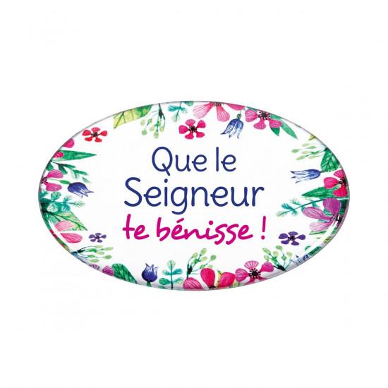 Magnets avec motifs floraux