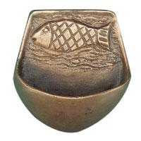 Bénitier bronze