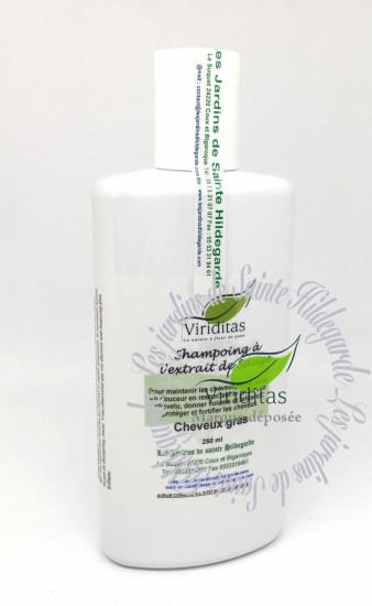 Shampooing bio-traitant sauge, cheveux gras,  250 ml «Soldé»
