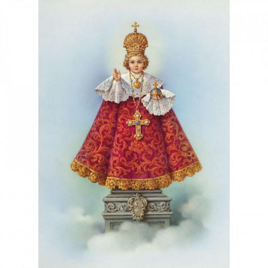 Icône  l'Enfant-Jésus de Prague. Disponible en 2 tailles