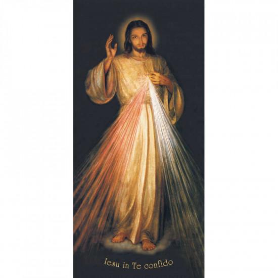 Icône Christ Miséricordieux de soeur Faustine. Disponible en 5 tailles