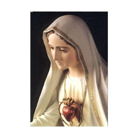 Icône Le Cœur Immaculé de Marie. Disponible en 3 tailles