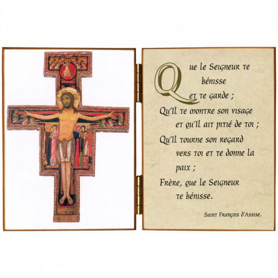 Diptyque  Crucifix de St Damien
