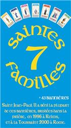 Jeu de cartes 7 Saintes Familles