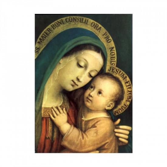 Icône  Notre-Dame du Bon Conseil. Disponible en 3 tailles