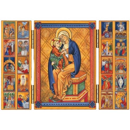 Triptyque Les Mystères du Rosaire