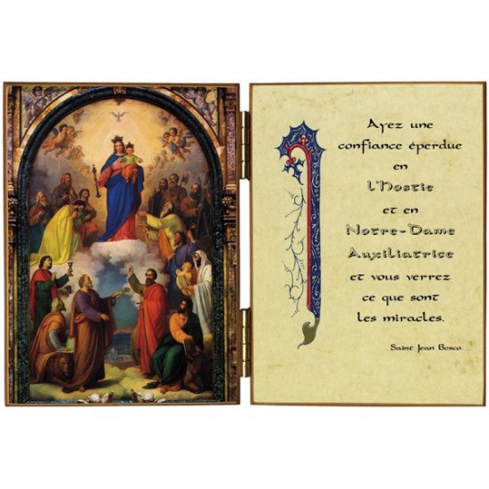 Diptyque  : Notre-Dame Auxiliatrice
