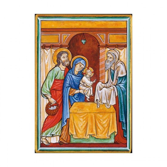 Icône  Présentation de Jésus. Disponible en 3 tailles