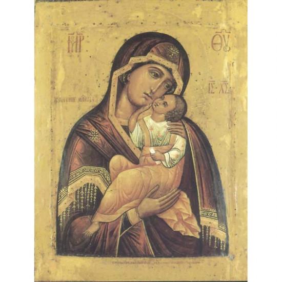 Icône Notre Dame Réjouissance de l'Enfant. Disponible en 3 tailles