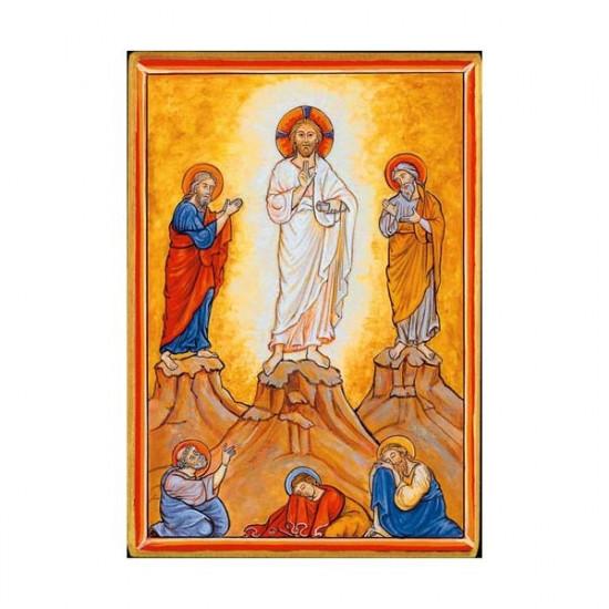 Icône Transfiguration. Disponible en 2 tailles avec tranche dorée.