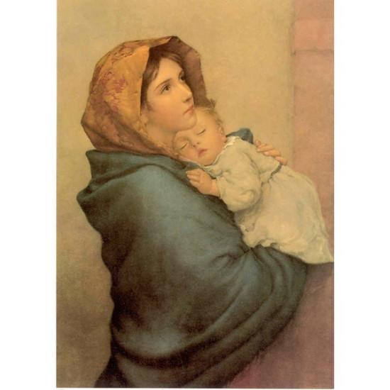 Icône Vierge avec l'Enfant Jésus.Disponible en 3 tailles.
