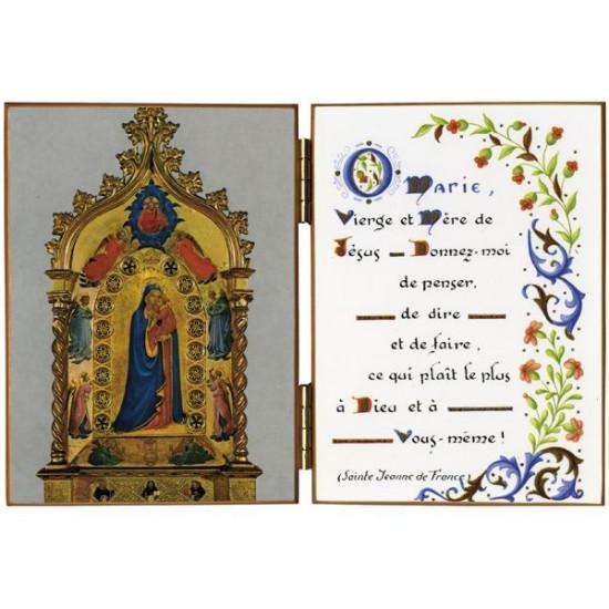Diptyque : Vierge de l'Etoile