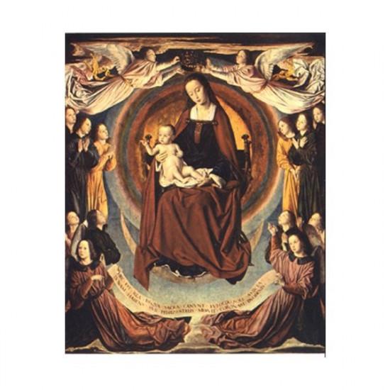 Icône Vierge du Maître de Moulins