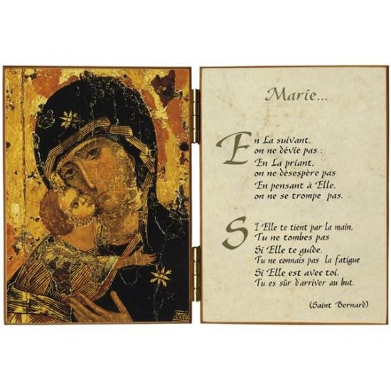 Diptyque : Vierge de Vladimir