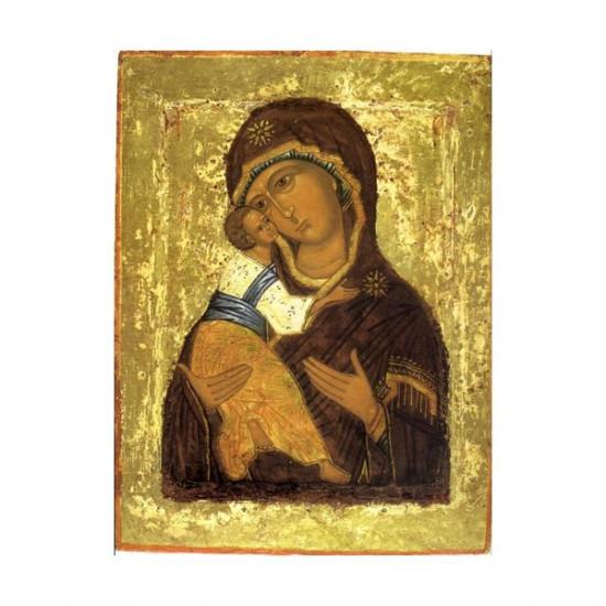 Icône Vierge de Vladimir.