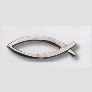 Pins Ichtus argenté