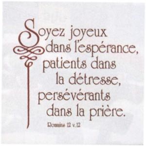 Céramique «Soyez joyeux»